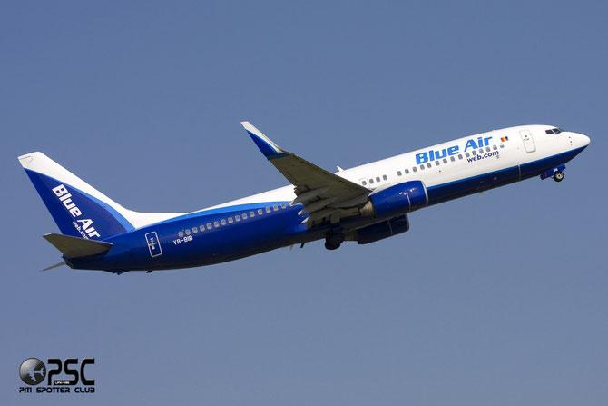 YR-BIB B737-8AS 29926/722 Blue Air