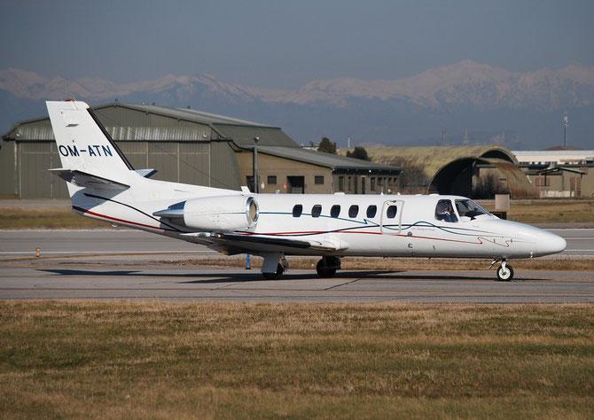 OM-ATN Ce550 Bravo 550-1040 Air-Transport Europe @ Aeroporto di Verona © Piti Spotter Club Verona