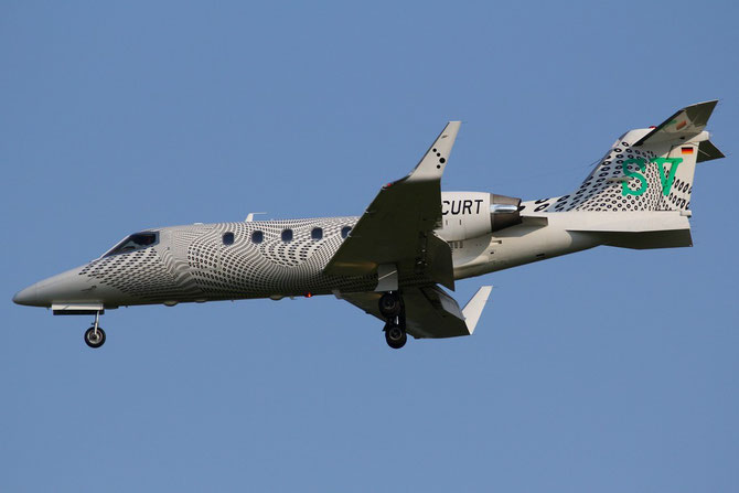 D-CURT Learjet 31A 31A-042 Air Traffic