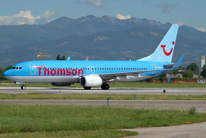 Boeing 737 Next Gen - MSN 37248 - G-FDZT  @ Aeroporto di Verona © Piti Spotter Club Verona