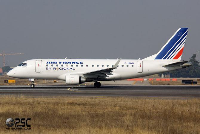 Embraer 170/175 - MSN 250 - F-HBXB (Air France Regionale CAE livery) @ Aeroporto di Verona © Piti Spotter Club Verona