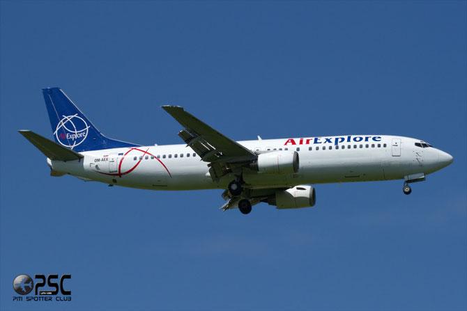 OM-AEX B737-4Y0 25178/2199 AirExplore