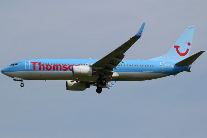 Boeing 737 Next Gen - MSN 37258 - G-FDZX  @ Aeroporto di Verona © Piti Spotter Club Verona