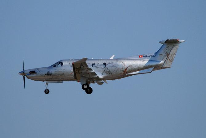 HB-FVM PC-12/47E 1291 Leonardo Flyers AG @ Aeroporto di Verona © Piti Spotter Club Verona
