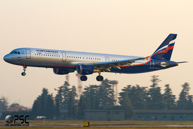 Airbus A321 - MSN 4461 - VQ-BHK  @ Aeroporto di Verona © Piti Spotter Club Verona