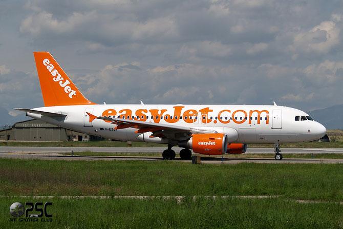 Airbus A319 - MSN 4635 - G-EZGF @ Aeroporto di Verona © Piti Spotter Club Verona