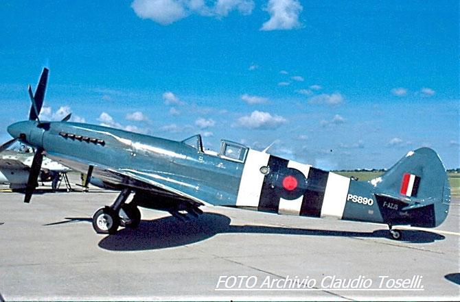 F-AZJS - Untitled Supermarine 389 Spitfire PR19