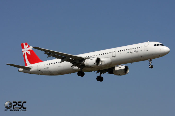 F-GYAQ A321-211 827 Air Méditerranée