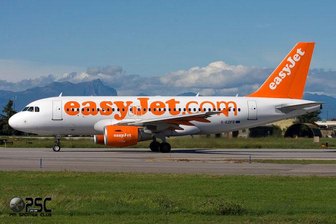 Airbus A319 - MSN 4129 - G-EZFS @ Aeroporto di Verona © Piti Spotter Club Verona