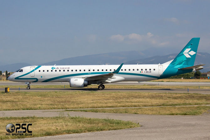 Embraer 190/195 - MSN 270 - I-ADJN  @ Aeroporto di Verona © Piti Spotter Club Verona
