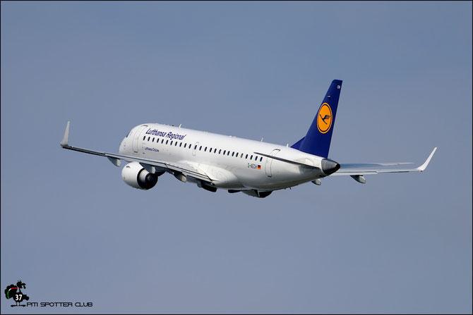 D-AECH ERJ190LR 19000376 Lufthansa CityLine @ Aeroporto di Verona © Piti Spotter Club Verona