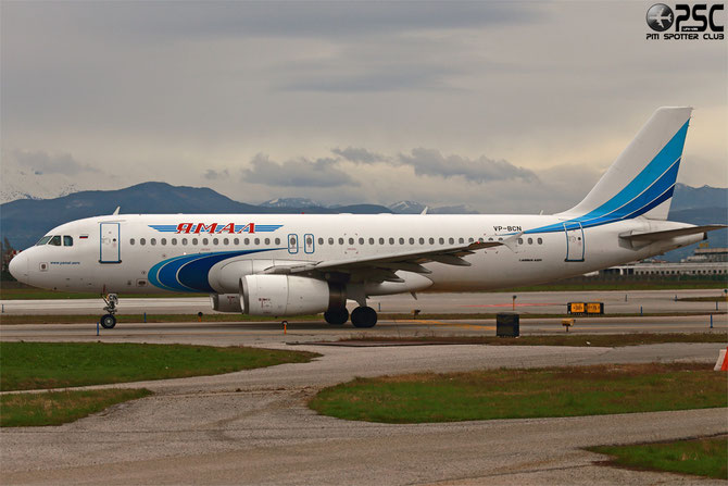 VP-BCN A320-232 1993 Yamal Airlines