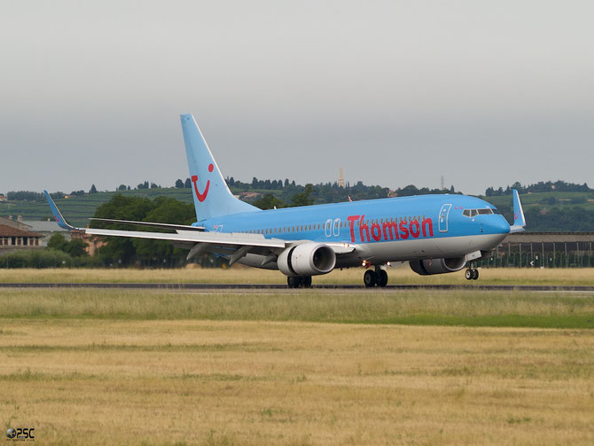 Boeing 737 Next Gen - MSN 37267 - G-TAWI  @ Aeroporto di Verona © Piti Spotter Club Verona