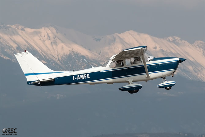 I-AMFE - Cessna 172 Skyhawk - @ Aeroporto Verona Boscomantico © Piti Spotter Club Verona