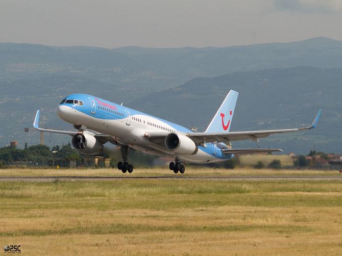 Boeing 757 - MSN 29379 - G-OOBN  @ Aeroporto di Verona © Piti Spotter Club Verona