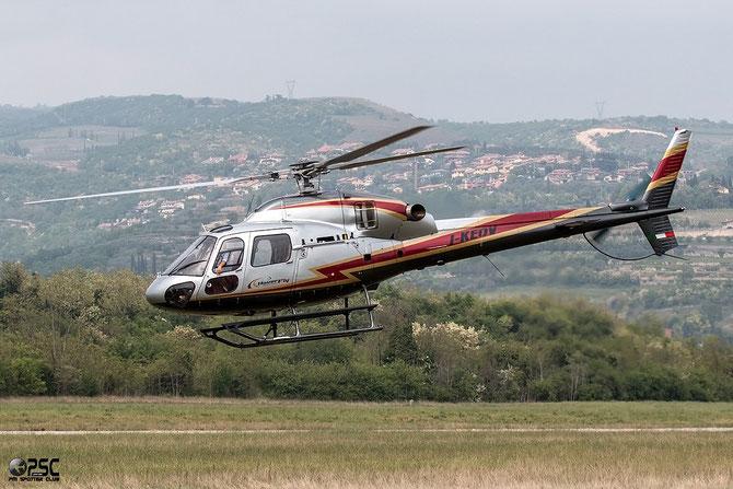 I-KEOV Eurocopter AS-355N Ecureuil 2 HoverFly @ Aeroporto Verona Boscomantico © Piti Spotter Club Verona