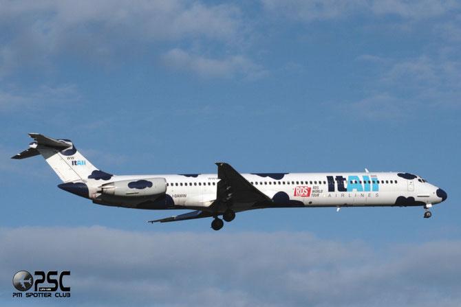 I-DAWW MD-82 49212/1233 Itali Airlines
