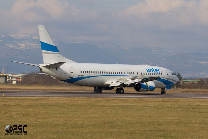 SP-ENF B737-4C9 25429/2215 Enter Air @ Aeroporto di Verona © Piti Spotter Club Verona