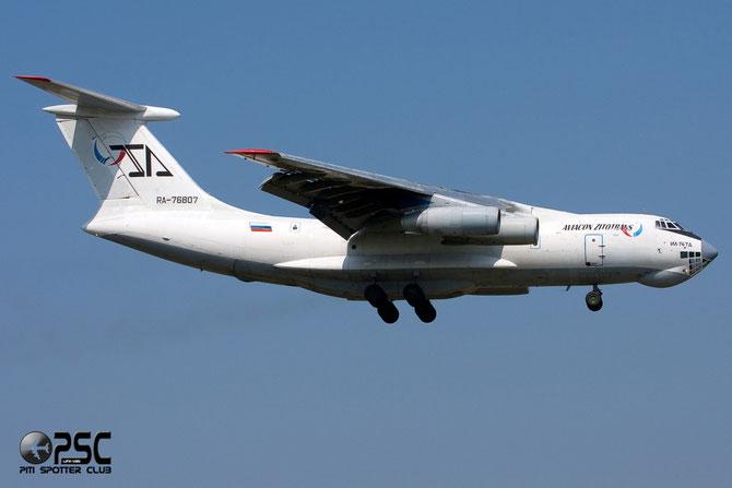 Aviacon Zitotrans Ilyushin IL-76TD - RA-76807 @ Aeroporto di Verona © Piti Spotter Club Verona