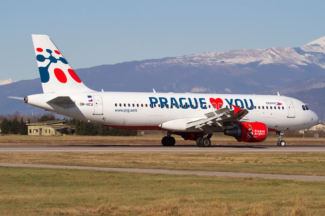 OM-HCA A320-214 4699 Travel Service Slovakia @ Aeroporto di Verona © Piti Spotter Club Verona