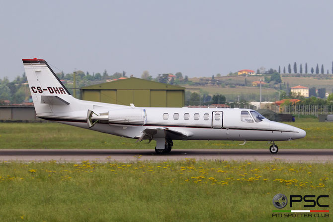 CS-DHR Ce550 Bravo 550-1114 NetJets Europe @ Aeroporto di Verona © Piti Spotter Club Verona