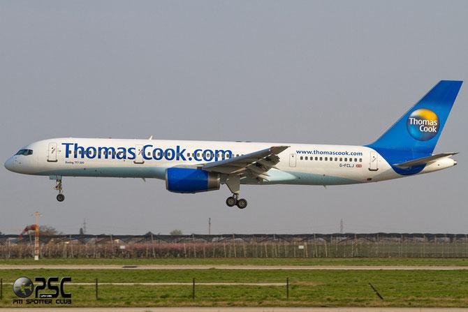 G-FCLJ B757-2Y0 26160/555 Thomas Cook Airlines @ Aeroporto di Verona © Piti Spotter Club Verona