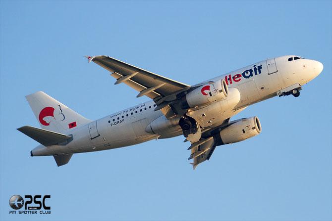 F-ORAF A319-132 2335 Belle Air