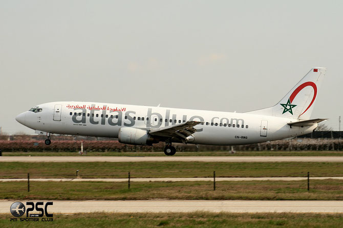 CN-RMG B737-4B6 24808/1888 Atlas Blue