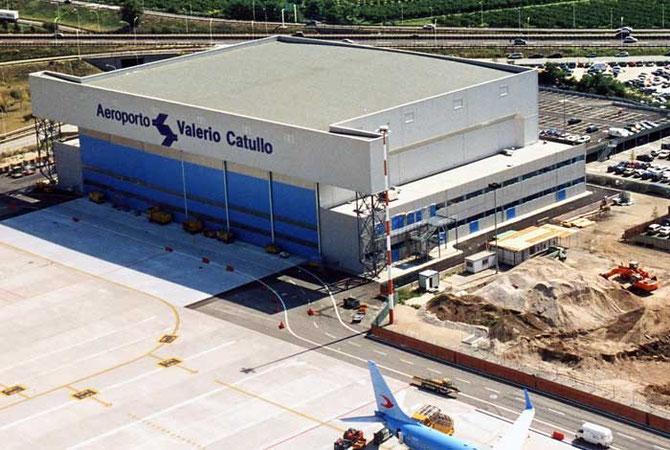Aeroporto Verona Arrivi : Storia dell aeroporto di verona psc piti spotter
