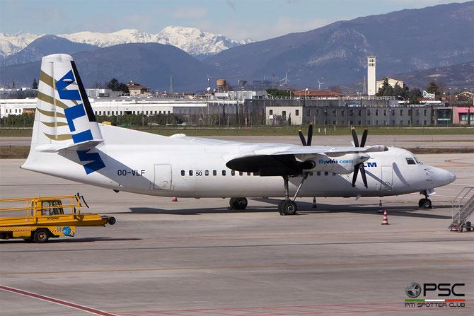 OO-VLF Fokker 50 20208 VLM Airlines - Vlaamse Luchttransport Maatschappij @ Aeroporto di Verona - 2016 © Piti Spotter Club Verona
