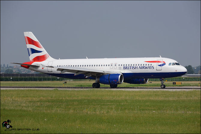 G-EUUU A320-232 3351 British Airways @ Aeroporto di Verona © Piti Spotter Club Verona