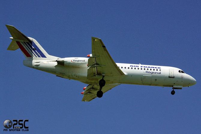 Fokker 70/100 - MSN 11558 - F-GLIX @ Aeroporto di Verona © Piti Spotter Club Verona