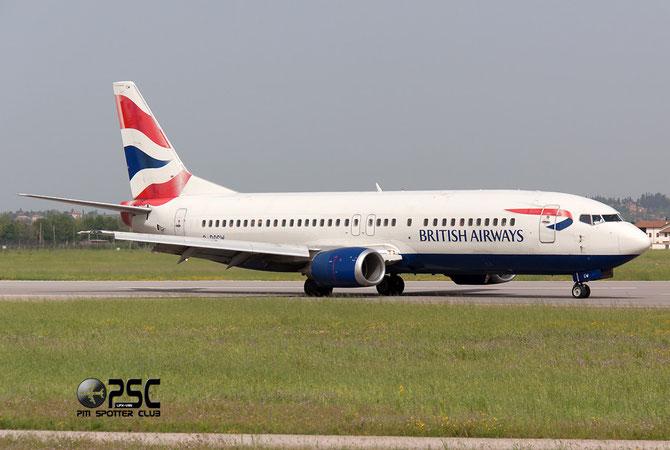 Boeing 737 - MSN 25856 - G-DOCW @ Aeroporto di Verona © Piti Spotter Club Verona