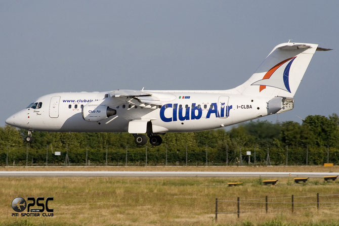 I-CLBA BAe146-RJ85 E2300 Club Air (Italy)
