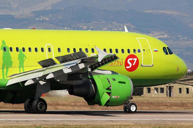 VP-BHI A319-114 2028 S7 Airlines @ Aeroporto di Verona © Piti Spotter Club Verona