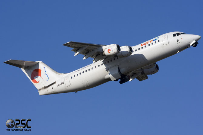 LZ-HBE BAe146-300 E3131 Belle Air