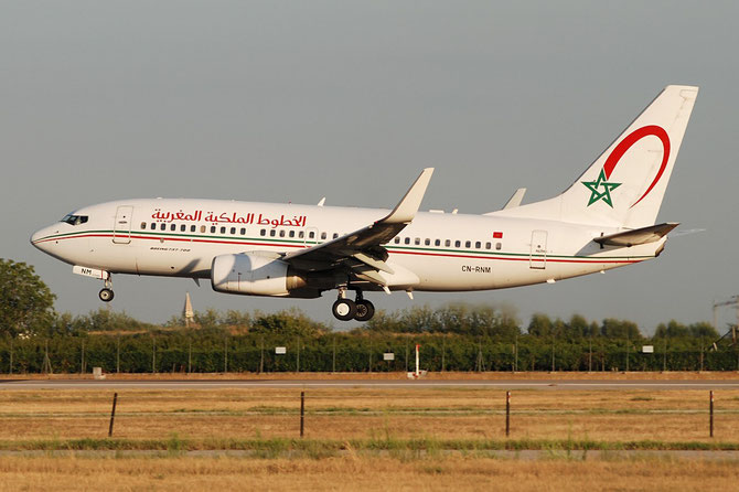 CN-RNM B737-7B6 28984/294 Royal Air Maroc