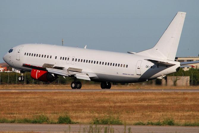 OK-WGY B737-436 25839/2188 CSA Czech Airlines