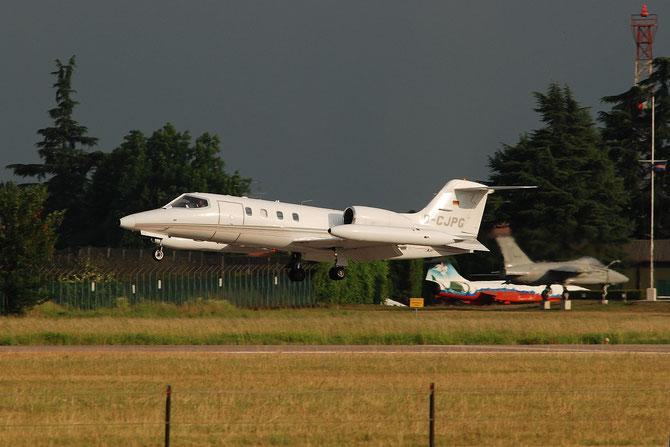 D-CJPG Learjet 35A 35A-108 J.Griesemann @ Aeroporto di Verona © Piti Spotter Club Verona