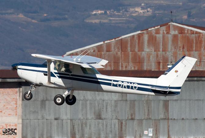 I-ORYO Cessna 152 II @ Aeroporto Verona Boscomantico © Piti Spotter Club Verona