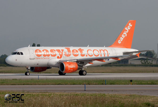 G-EZBO A319-111 3082 EasyJet Airline