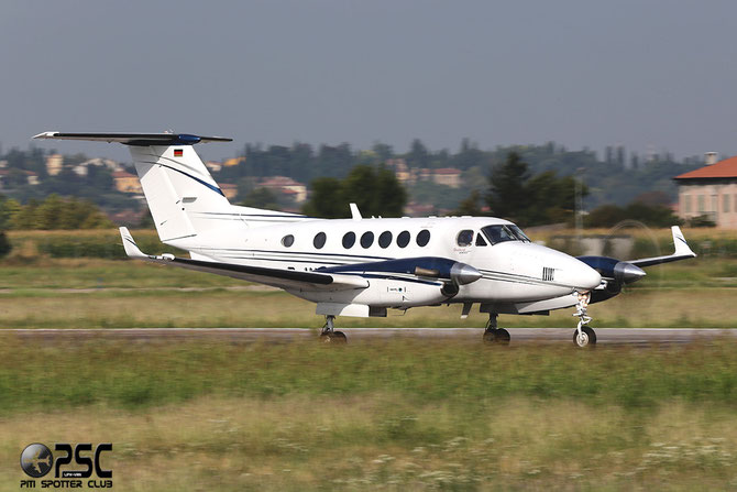 D-IVAN Beech B200 BB-1662 CMAC City-Marketing, Advertising & Communication