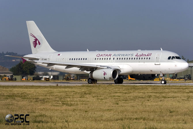 A7-AAG A320-232 927 Government of Qatar - Qatar Airways Amiri Flight