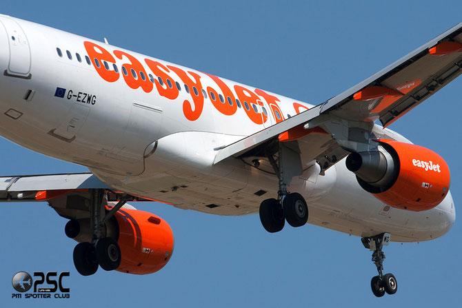 Airbus A320 - MSN 5318 - G-EZWG  Airline EasyJet @ Aeroporto di Verona © Piti Spotter Club Verona