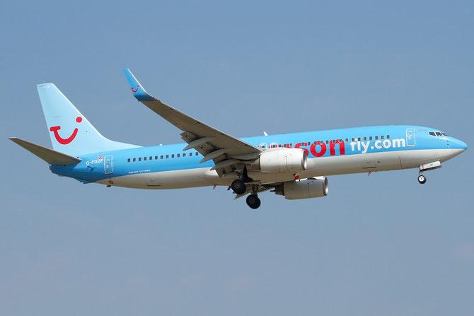 Boeing 737 Next Gen - MSN 35138 - G-FDZF @ Aeroporto di Verona © Piti Spotter Club Verona