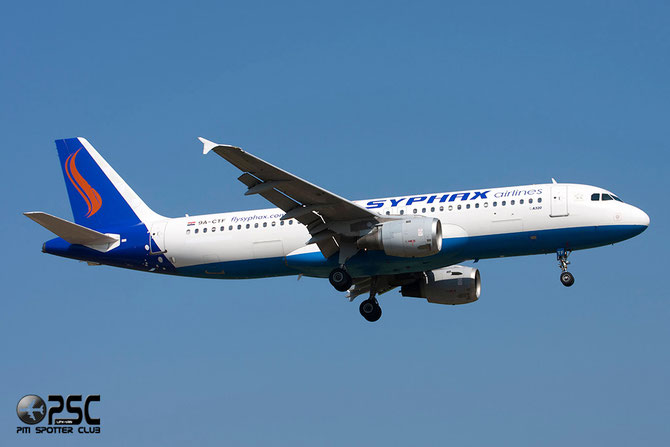 9A-CTF A320-212 258 Syphax Airlines
