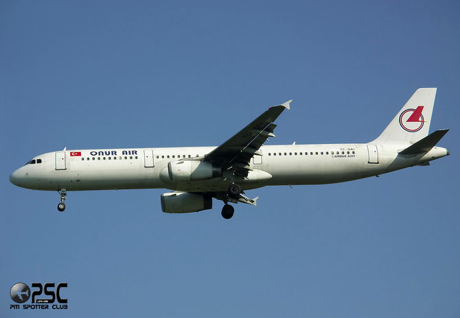TC-OAI A321-231 787 Onur Air