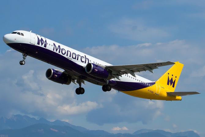 G-OZBZ A321-231 1421 Monarch Airlines @ Aeroporto di Verona © Piti Spotter Club Verona