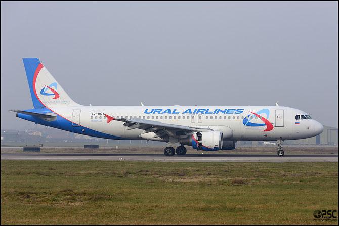 VQ-BCY A320-214 1484 Ural Airlines @ Aeroporto di Verona © Piti Spotter Club Verona