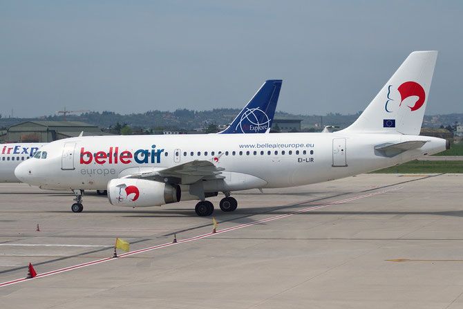 EI-LIR A319-132 2335 Belle Air Europe